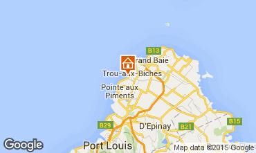 Kaart Trou-aux-biches Bungalow 28556