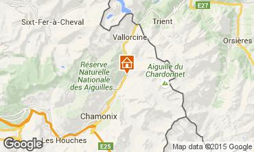 Kaart Chamonix Mont-Blanc Appartement 90741