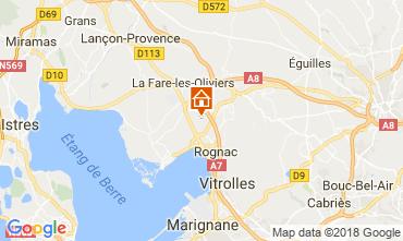 Kaart Aix en Provence Villa 115046