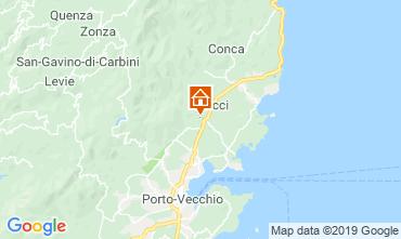 Kaart Porto Vecchio Villa 118150
