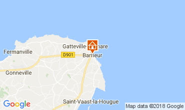 Kaart Barfleur Vakantiehuis 113106