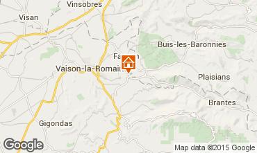 Kaart Vaison la Romaine Villa 82681