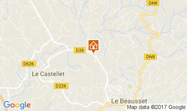 Kaart Le Castellet Villa 92074