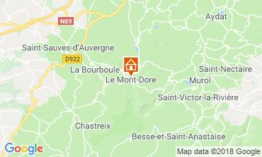 Kaart Le Mont Dore Appartement 117145
