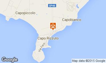 Kaart Isola di Capo Rizzuto Appartement 68139