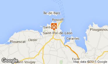 Kaart Saint-Pol-de-Léon Huis 80952