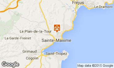 Kaart Sainte Maxime Villa 85005