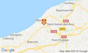Kaart Deauville Stacaravan 117426