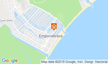 Kaart Empuriabrava Appartement 118293