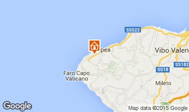 Kaart Tropea Appartement 96981