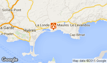 Kaart La Londe les Maures Appartement 10359