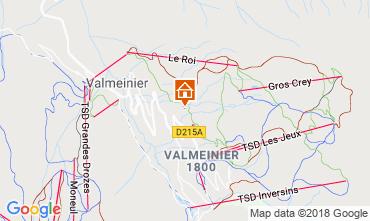 Kaart Valmeinier Chalet 116649