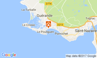 Kaart La Baule Appartement 30666