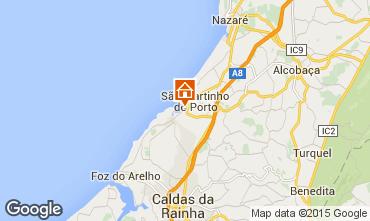 Kaart São Martinho do Porto Appartement 74983