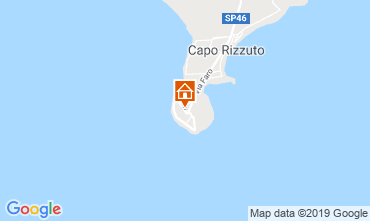 Kaart Isola di Capo Rizzuto Bungalow 26144