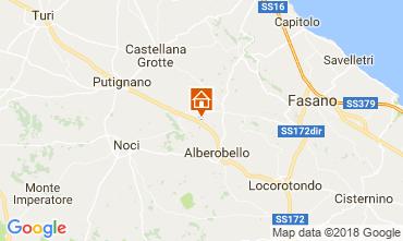 Kaart Alberobello Villa 113922