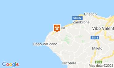 Kaart Tropea Villa 57487