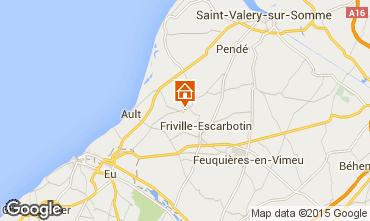 Kaart Saint Valéry sur Somme Vakantiehuis 56868