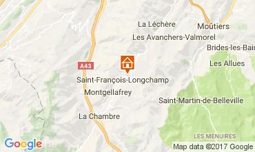 Kaart Saint François Longchamp Chalet 107261