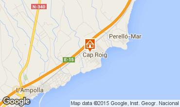 Kaart L'Ampolla Villa 94750