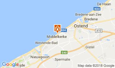Kaart Middelkerke Appartement 115900