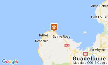 Kaart Deshaies Vakantiehuis 95999