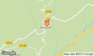 Kaart Aussois Appartement 393