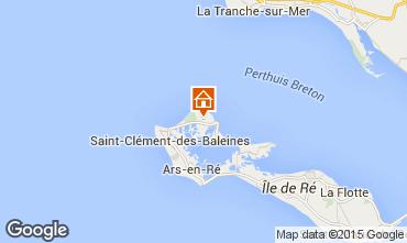 Kaart Les Portes-en-Ré Huis 6994
