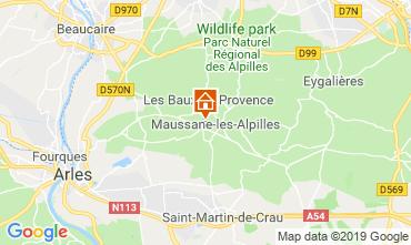 Kaart Maussane les Alpilles Vakantiehuis 118350
