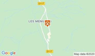 Kaart Les Menuires Studio 1615