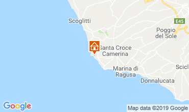 Kaart Marina di Ragusa Appartement 78652