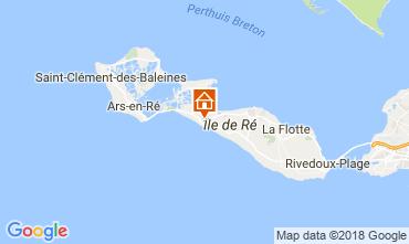 Kaart La Couarde-sur-Mer Huis 113774