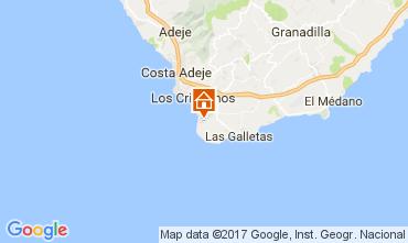 Kaart Los Cristianos Appartement 104577