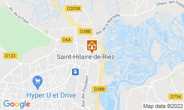 Kaart Saint Hilaire de Riez Huis 18955