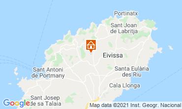 Kaart Ibiza Vakantiehuis 64142