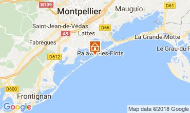 Kaart Palavas-les-Flots Studio 6111