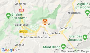 Kaart Chamonix Mont-Blanc Studio 90652