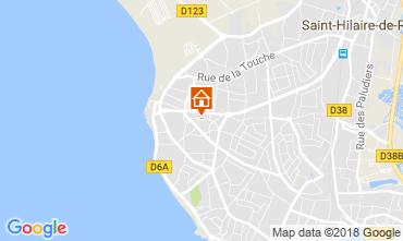 Kaart Saint Hilaire de Riez Villa 113956