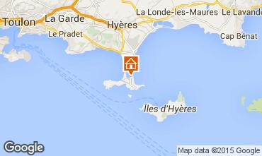 Kaart Hyères Appartement 69390