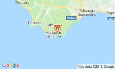 Kaart Marina di Camerota Appartement 87898
