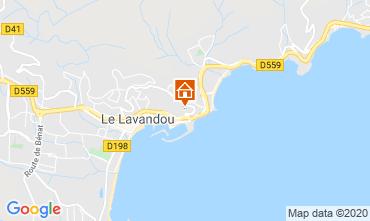 Kaart Le Lavandou Appartement 118987