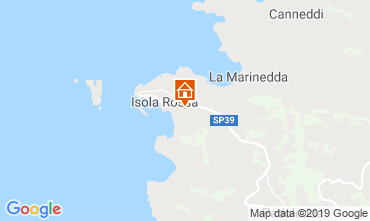 Kaart Isola Rossa Appartement 119104