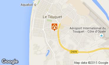 Kaart Le Touquet Appartement 92348