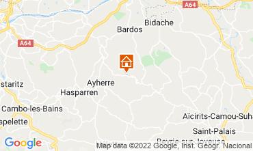 Kaart Biarritz Huis 69281