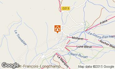 Kaart Saint François Longchamp Chalet 77938