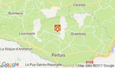 Kaart Lourmarin Villa 108812