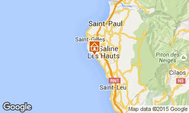 Kaart La Saline les Bains Bungalow 50449