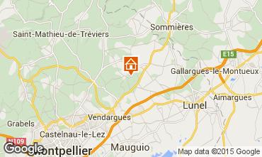 Kaart Montpellier Villa 80910