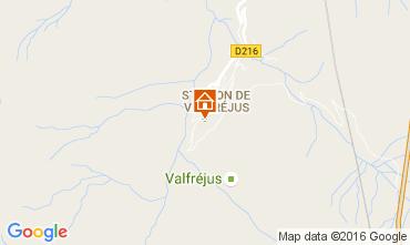 Kaart Valfréjus Studio 107072