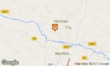 Kaart Morillon Grand Massif Chalet 1905